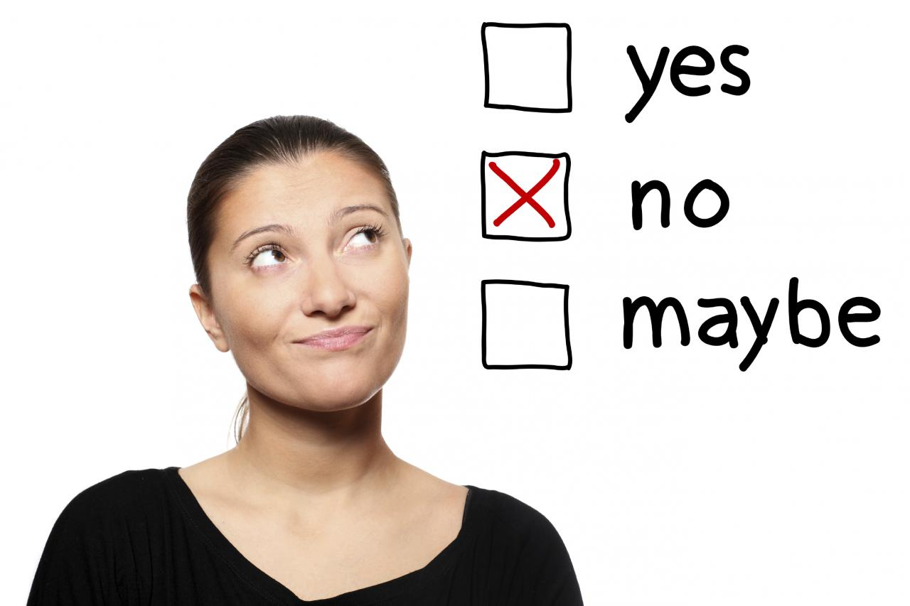 """Learning to Say """"No"""" - Clutter Busting"""
